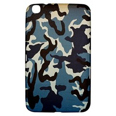 Blue Water Camouflage Samsung Galaxy Tab 3 (8 ) T3100 Hardshell Case