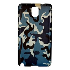 Blue Water Camouflage Samsung Galaxy Note 3 N9005 Hardshell Case