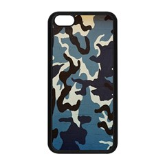 Blue Water Camouflage Apple iPhone 5C Seamless Case (Black)