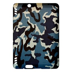 Blue Water Camouflage Kindle Fire Hdx Hardshell Case