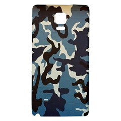 Blue Water Camouflage Galaxy Note 4 Back Case