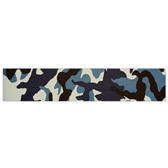 Blue Water Camouflage Flano Scarf (small)