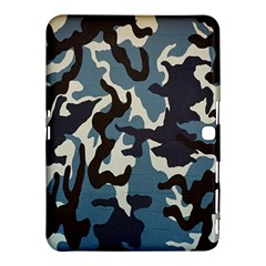 Blue Water Camouflage Samsung Galaxy Tab 4 (10 1 ) Hardshell Case