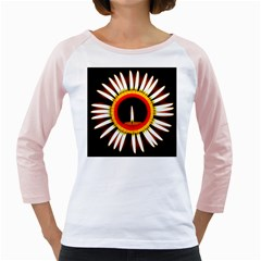 Candle Ring Flower Blossom Bloom Girly Raglans
