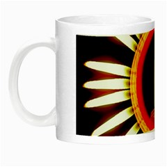 Candle Ring Flower Blossom Bloom Night Luminous Mugs