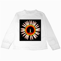 Candle Ring Flower Blossom Bloom Kids Long Sleeve T Shirts