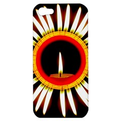 Candle Ring Flower Blossom Bloom Apple iPhone 5 Hardshell Case