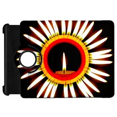 Candle Ring Flower Blossom Bloom Kindle Fire HD 7
