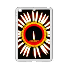Candle Ring Flower Blossom Bloom iPad Mini 2 Enamel Coated Cases