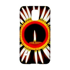 Candle Ring Flower Blossom Bloom Samsung Galaxy S5 Hardshell Case