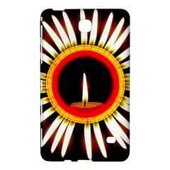 Candle Ring Flower Blossom Bloom Samsung Galaxy Tab 4 (8 ) Hardshell Case