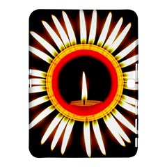 Candle Ring Flower Blossom Bloom Samsung Galaxy Tab 4 (10 1 ) Hardshell Case