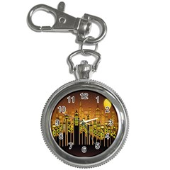 Buildings Skyscrapers City Key Chain Watches