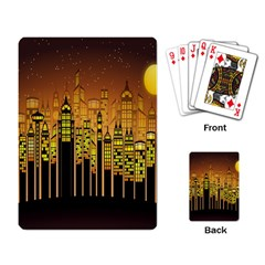 Buildings Skyscrapers City Playing Card