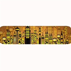 Buildings Skyscrapers City Large Bar Mats