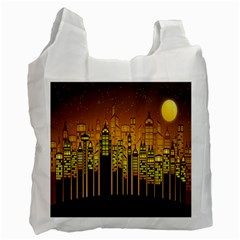 Buildings Skyscrapers City Recycle Bag (Two Side)