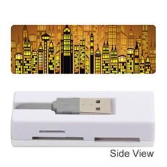 Buildings Skyscrapers City Memory Card Reader (Stick)