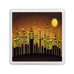 Buildings Skyscrapers City Memory Card Reader (Square)