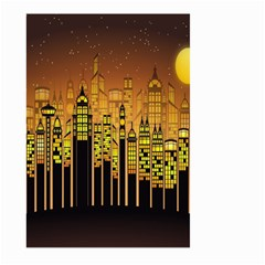 Buildings Skyscrapers City Large Garden Flag (Two Sides)