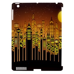Buildings Skyscrapers City Apple Ipad 3/4 Hardshell Case (compatible With Smart Cover)