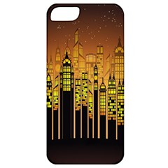 Buildings Skyscrapers City Apple Iphone 5 Classic Hardshell Case