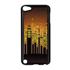 Buildings Skyscrapers City Apple Ipod Touch 5 Case (black)