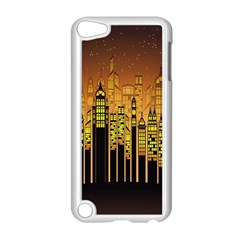 Buildings Skyscrapers City Apple iPod Touch 5 Case (White)