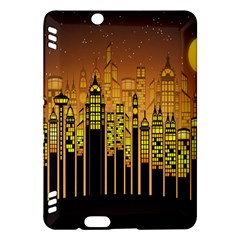 Buildings Skyscrapers City Kindle Fire HDX Hardshell Case