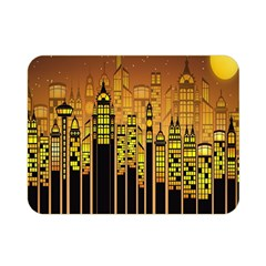 Buildings Skyscrapers City Double Sided Flano Blanket (Mini)