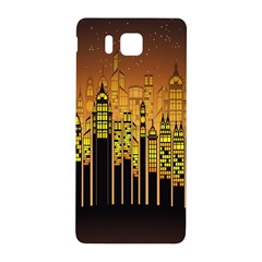 Buildings Skyscrapers City Samsung Galaxy Alpha Hardshell Back Case