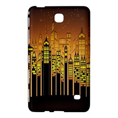 Buildings Skyscrapers City Samsung Galaxy Tab 4 (7 ) Hardshell Case