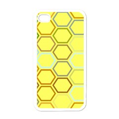 Bee Hive Pattern Apple Iphone 4 Case (white)