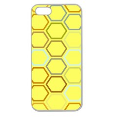 Bee Hive Pattern Apple Seamless iPhone 5 Case (Clear)