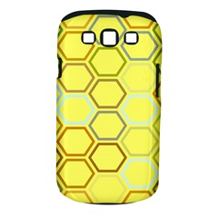 Bee Hive Pattern Samsung Galaxy S III Classic Hardshell Case (PC+Silicone)