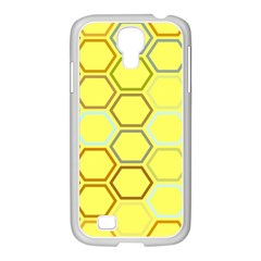 Bee Hive Pattern Samsung Galaxy S4 I9500/ I9505 Case (white)
