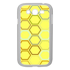 Bee Hive Pattern Samsung Galaxy Grand Duos I9082 Case (white)