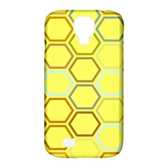 Bee Hive Pattern Samsung Galaxy S4 Classic Hardshell Case (pc+silicone)