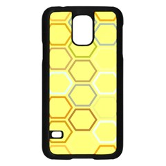 Bee Hive Pattern Samsung Galaxy S5 Case (black)