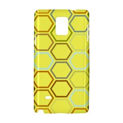 Bee Hive Pattern Samsung Galaxy Note 4 Hardshell Case