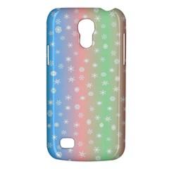 Christmas Happy Holidays Snowflakes Galaxy S4 Mini