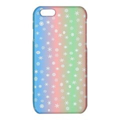 Christmas Happy Holidays Snowflakes iPhone 6/6S TPU Case