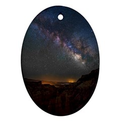 Fairyland Canyon Utah Park Oval Ornament (Two Sides)