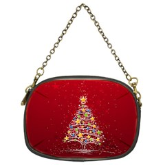 Colorful Christmas Tree Chain Purses (Two Sides)