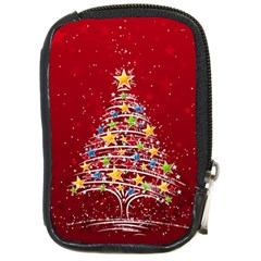 Colorful Christmas Tree Compact Camera Cases
