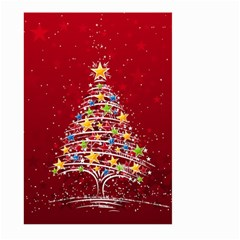 Colorful Christmas Tree Large Garden Flag (Two Sides)