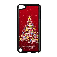 Colorful Christmas Tree Apple Ipod Touch 5 Case (black)