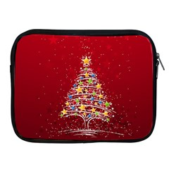 Colorful Christmas Tree Apple Ipad 2/3/4 Zipper Cases