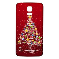 Colorful Christmas Tree Samsung Galaxy S5 Back Case (white)