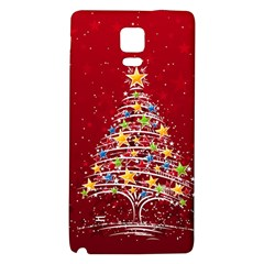 Colorful Christmas Tree Galaxy Note 4 Back Case