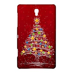 Colorful Christmas Tree Samsung Galaxy Tab S (8.4 ) Hardshell Case